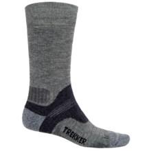 Bridgedale WoolFusion Trekker Boot Socks - Mid Calf (For Men) in Grey/Dark Grey - 2nds