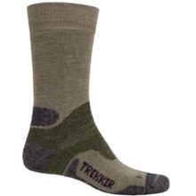 Bridgedale WoolFusion Trekker Boot Socks - Mid Calf (For Men) in Olive/Dark Olive Marl - 2nds