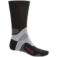 Bridgedale WoolFusion Trekker Tactical Boot Socks - Crew (For Men) in Black/Grey - 2nds