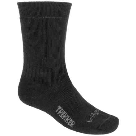 Bridgedale WoolFusion Trekker Tactical Boot Socks - Crew (For Men) in Black - 2nds