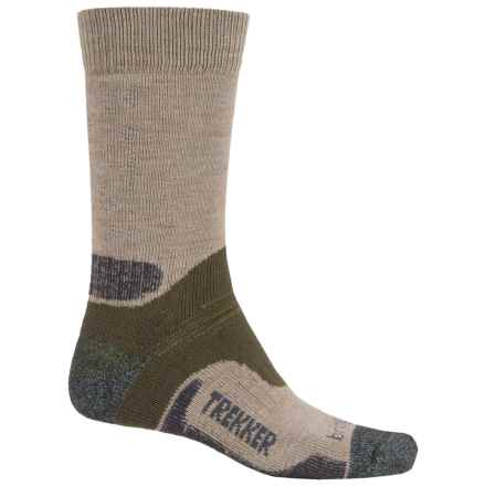 Bridgedale WoolFusion Trekker Tactical Boot Socks - Crew (For Men) in Green - 2nds