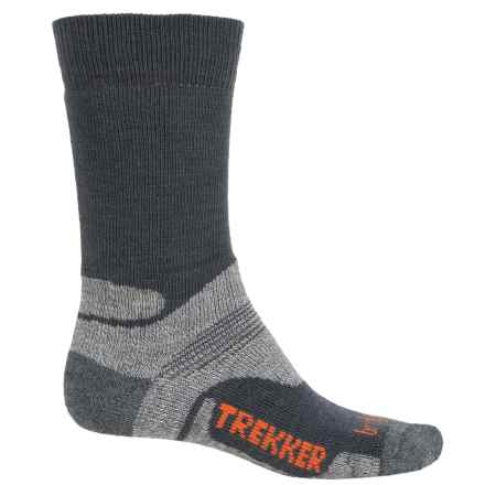 Bridgedale WoolFusion Trekker Tactical Boot Socks - Crew (For Men) in Grey/Light Grey - 2nds