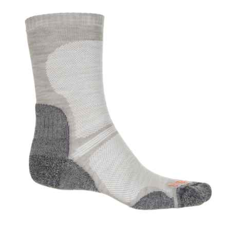 Bridgedale WoolFusion® Ultralight Hiking Socks - Crew (For Men and Women) in Gunmetal - 2nds