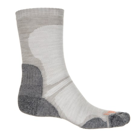 Bridgedale WoolFusion® Ultralight Hiking Socks - Crew (For Men and Women) in Gunmetal