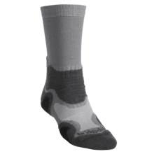 Bridgedale X-Hale Light Hiker Socks- Merino Wool (For Men) in Grey/Charcoal - 2nds