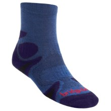 Bridgedale X-Hale Trailhead Socks (For Men and Women) in Blue/Navy - 2nds