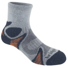 Bridgedale X-Hale Trailhead Socks (For Men and Women) in Silver/Navy - 2nds
