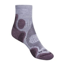 Bridgedale X-Hale Trailhead Socks  (For Women) in Light Purple / Purple - 2nds