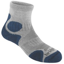 Bridgedale X-Hale Trailhead Socks  (For Women) in Mist/Lake - 2nds