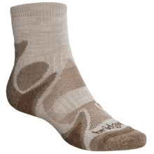 Bridgedale X-Hale Trailhead Socks - Merino Wool, Quarter Crew (For Men and Women) in Chino/Rope - 2nds