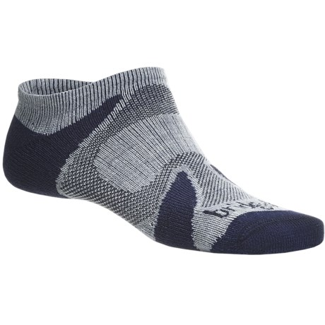 Bridgedale Xhale Cool Socks (For Men and Women) in Grey/Navy