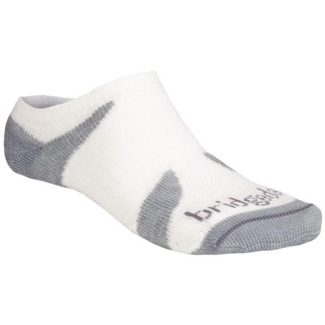 Bridgedale Xhale Cool Socks (For Men and Women) in White Slate