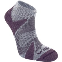 Bridgedale Xhale Cool Socks (For Men) in Heather/Plum - 2nds