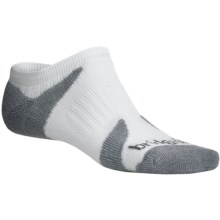 Bridgedale Xhale Cool Socks (For Men) in White/Grey - 2nds