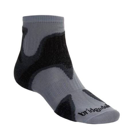 Bridgedale Xhale Speed Demon Socks (For Men) in Grey/Charcoal