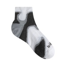 Bridgedale Xhale Speed Demon Socks (For Men) in White/Grey/Black - 2nds