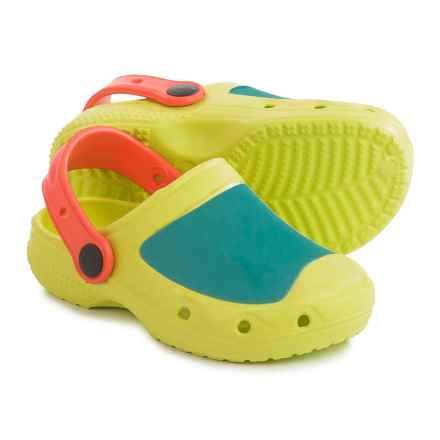 Briers Rubber Clogs (For Kids) in Multi - Closeouts