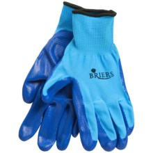 Briers Seed and Weed Coated Garden Gloves in Blue - Closeouts