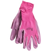 Briers Seed and Weed Coated Garden Gloves in Pink - Closeouts