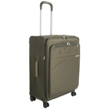"Briggs & Riley Baseline Spinner Suitcase - Expandable, 27"" in Olive - Closeouts"