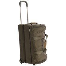 "Briggs & Riley Baseline Upright Rolling Duffel Bag - 26"" in Olive - Closeouts"