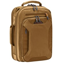 Briggs & Riley BRX Excursion Convertible Briefcase in Amber - Closeouts