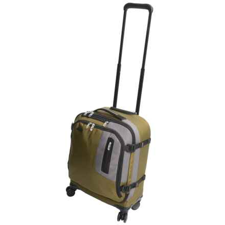 Briggs & Riley BRX Explore International Carry-On Spinner Suitcase in Green - Closeouts