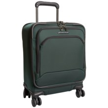 Briggs & Riley Commuter Carry-On Spinner Suitcase in Hunter Green - Closeouts