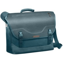 Briggs & Riley Excursion Messenger Bag in Ocean - Closeouts