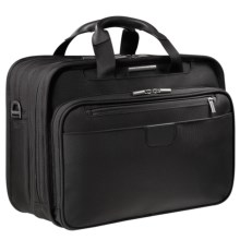 Briggs & Riley Executive Clamshell Briefcase - Medium in Black - Closeouts