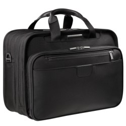 Briggs & Riley Executive Clamshell Briefcase - Medium in Black