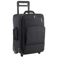 "Briggs & Riley Fuse Carry-On Upright Rolling Suitcase - 20"", Laptop Sleeve in Black - Closeouts"
