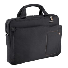 Briggs & Riley Groove Slim Briefcase in Black - Closeouts