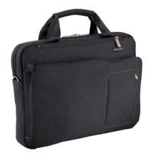 Briggs & Riley Groove Slim Briefcase in Black - Closeouts