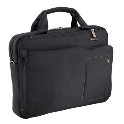 Briggs & Riley Groove Slim Briefcase in Black