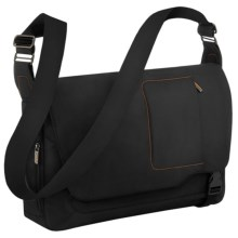 Briggs & Riley Grow Expandable Messenger Bag in Black - Closeouts
