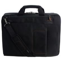 Briggs & Riley Max Slim Briefcase in Black - Closeouts