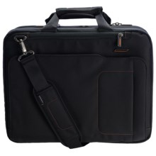 Briggs & Riley Medium Mach Speedthru Briefcase in Black - Closeouts