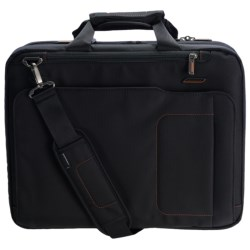 Briggs & Riley Medium Mach Speedthru Briefcase in Black
