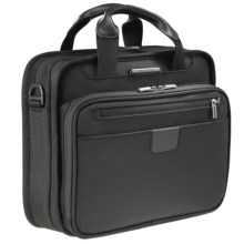 Briggs & Riley Netbook Slim Clamshell Briefcase in Black - Closeouts