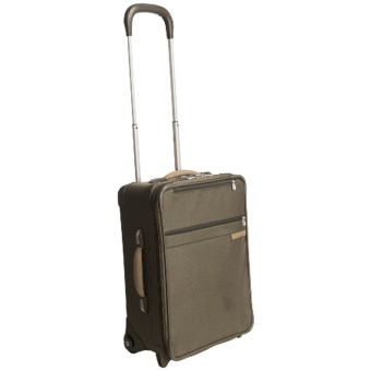 "Briggs & Riley One-Touch Expandable Upright Suitcase - 20"", Carry-On in Olive"