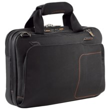 Briggs & Riley Small Byte Briefcase in Black - Closeouts