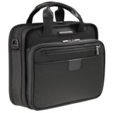 Briggs & Riley Small Slim Clamshell Briefcase