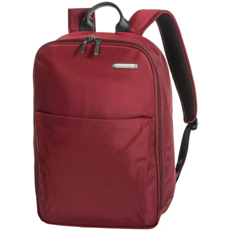 Briggs & Riley Sympatico 18L Carry-On Backpack in Burgundy