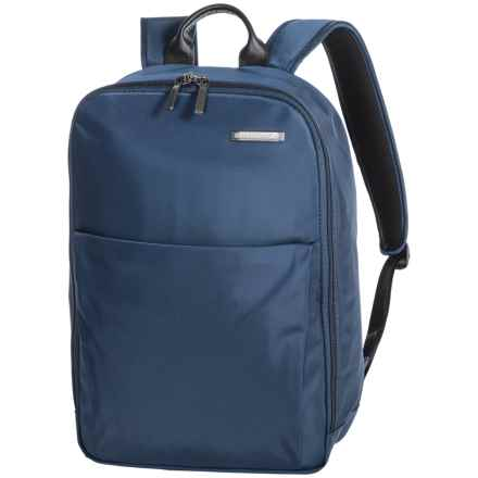 Briggs & Riley Sympatico Carry-On Backpack in Marine Blue - Closeouts