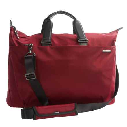 Briggs & Riley Sympatico Weekender Duffel Bag in Burgundy - Closeouts