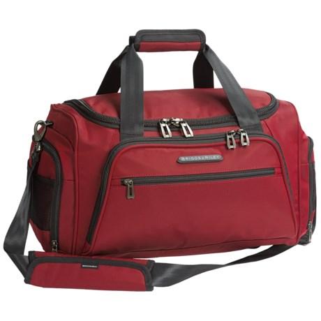 Briggs & Riley Transcend Cabin 31L Duffel Bag in Crimson