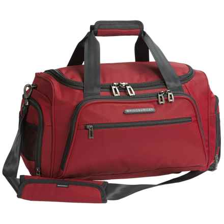 Briggs & Riley Transcend Cabin Duffel Bag in Crimson - Closeouts