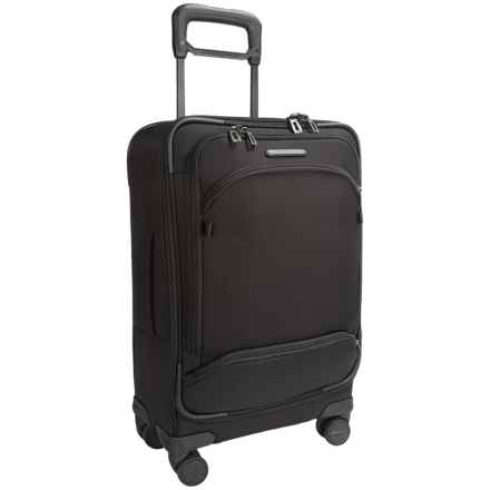 "Briggs & Riley Transcend Domestic Carry-On Spinner Suitcase - 22"" in Black - Closeouts"
