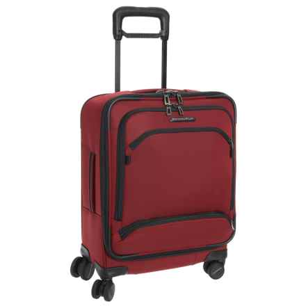 "Briggs & Riley Transcend International Wide-Body Spinner Suitcase - Carry-On, 21"" in Crimson - Closeouts"